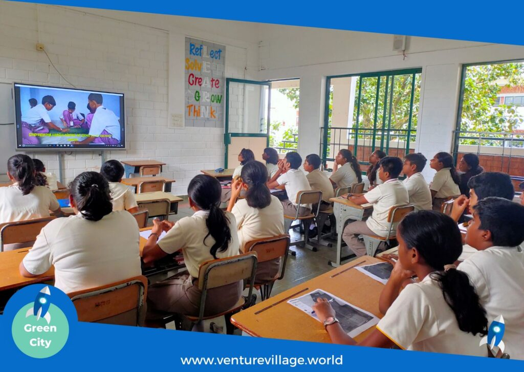 Students of Grade 6 and 7 attend GreenCity by VentureVillage